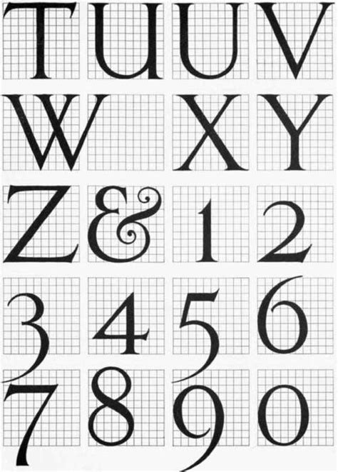 article  lettering
