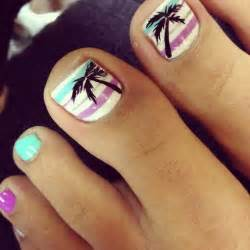 Hot toe nails for summer pretty designs