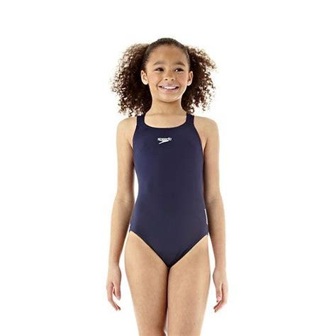 speedo endurance medalist girls swim suit
