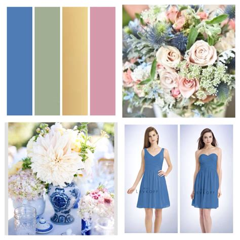 blue wedding color schemes my wedding color scheme cornflower blue gold