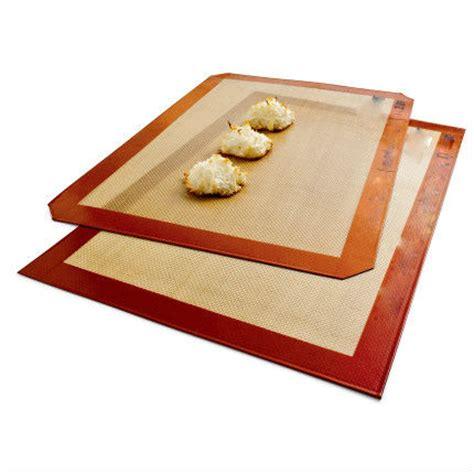 stick silicone non baking sheet reusable flexible mats