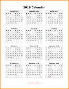 2018 Calendar Printable Org