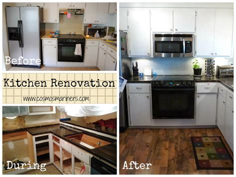 Remodeled Kitchens Before And After Contemporary Home
