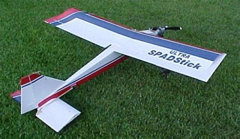 ultra spad stick plans aerofred   model