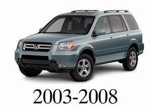Honda Pilot 2005 2006 2007 2008 Service Repair Manual