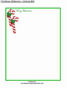 9 best images of printable holiday stationery free With christmas letter stationery printable