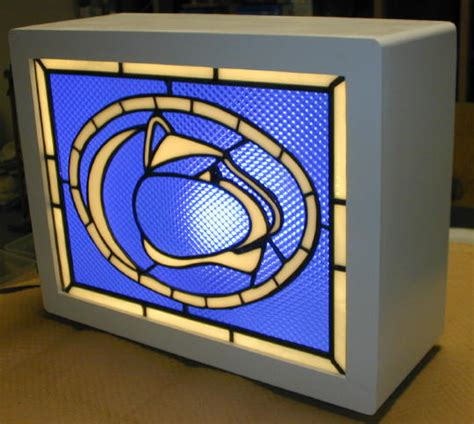 stained glass light box jeff 39 s pinball pages