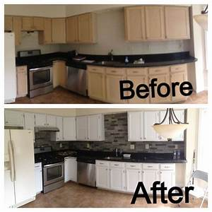 the 25 best airstone backsplash ideas on pinterest diy With kitchen cabinets lowes with keith haring wall art