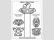 totem pole free printable Lapbook for Joy Hakims book