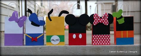 mickey mouse club house party goody bags party time