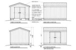 187 10 x 12 shed plans gable pdf shed plans 12 x 20 free