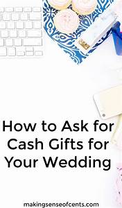 how to ask for cash gifts for wedding image collections With how to ask for money for wedding gift