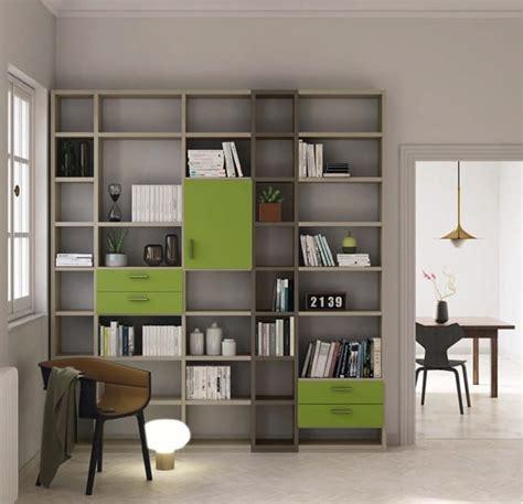 librerie con cassetti libreria componibile con cassetti idfdesign