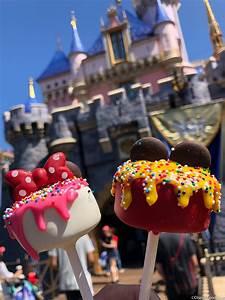 review adorable birthday cake pops debut in disneyland