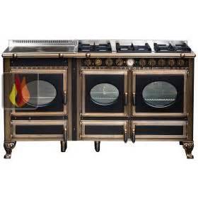 Plaque Gaz Et Electrique : piano de cuisson bois gaz et lectrique 160cm avec 2 fours et plaque de cuisson ~ Nature-et-papiers.com Idées de Décoration