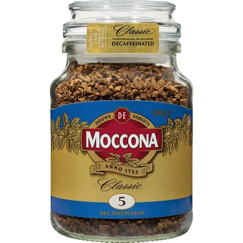 It provides you with massive health. Moccona Freeze Dried Instant Coffee Classic Decaffeinated 100g | Ifmal.com