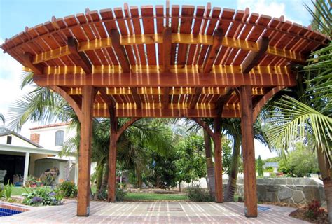 curved patio cover