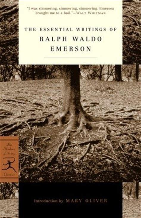 essential writings  ralph waldo emerson  ralph