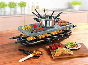 Raclette Und Fondue Set : tv unser original 05897 gourmet maxx raclette und fondue ~ Michelbontemps.com Haus und Dekorationen