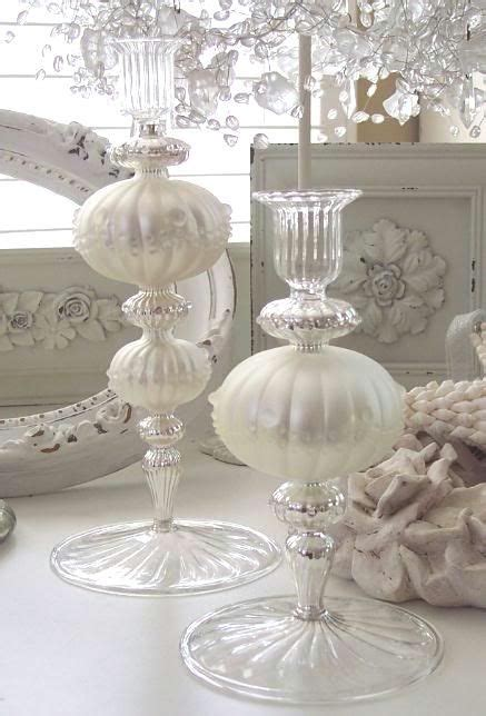 shabby chic candles shabby elegant handcrafted european mercury glass chic candle holders candle holders shabby