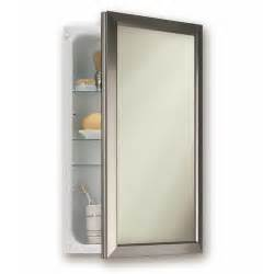 broan 15 75 quot x 25 5 quot recessed medicine cabinet reviews