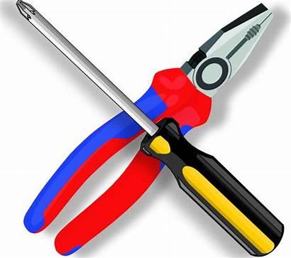 Tools Clip Clipart Svg Screw Clker Vector