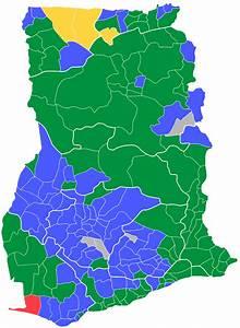 Medie Ghana Map