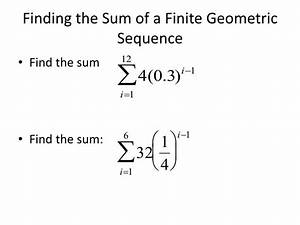Formula For Annuity Ppt Chapter 9 3 Geometric Sequences And Series