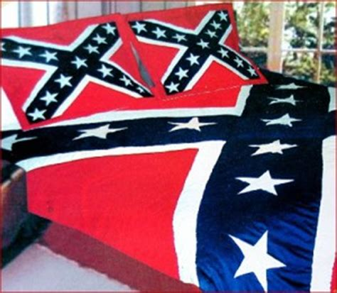 Confederate Flag Bedding by Ruffin Rebel Flag Quilt Civil War Stuff Store