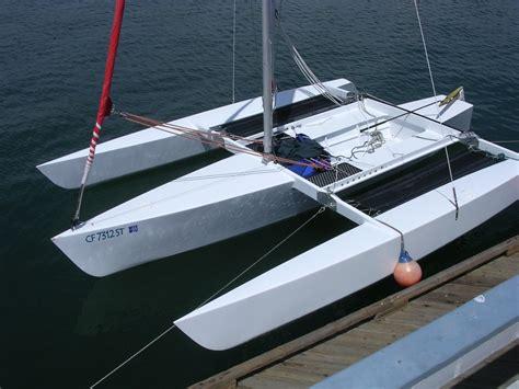 Trimaran Houseboat by Trimaran Sail Row Paddle Cruise Race For R2ak
