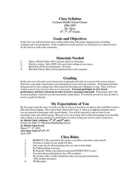 syllabus template syllabus of creative writing