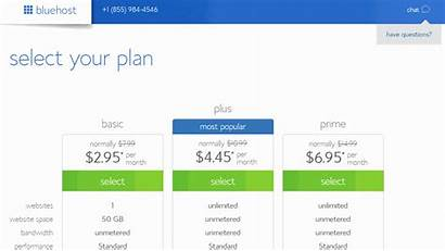 Bluehost Plans Basic Plan Hosting Web Packages