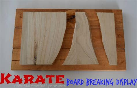 karate board breaking display   adventures
