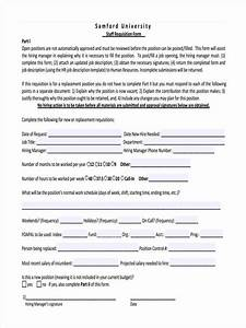 Personnel Requisition Form Sample Free 8 Staff Requisition Forms In Pdf Ms Word
