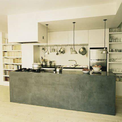 comptoir ciment cuisine cuisines le d 39 un comptoir maison