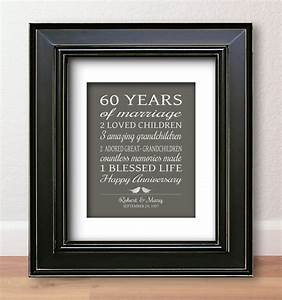 60th anniversary gift gift ftempo With 60 wedding anniversary gift