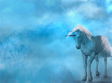 Fantasy Unicorn Background Wallpaper