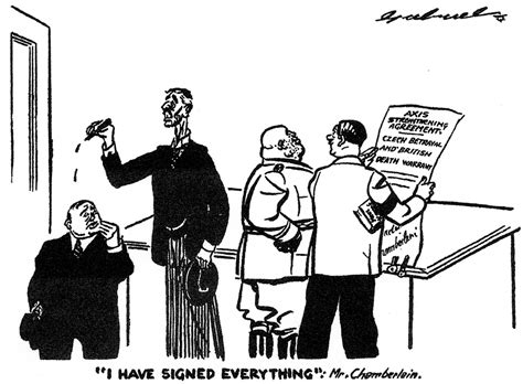 A Cartoon Published In Britain In A Communist Newspaper On