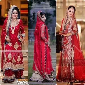 Best Bridal Red color Barat Dresses 2016 2017 Stylo Planet