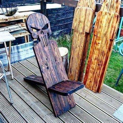 outdoor camping campfire viking chairs easy diy wood