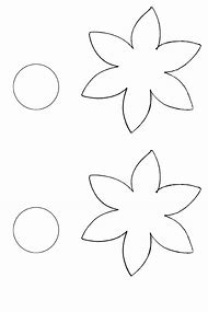 Best flower template ideas and images on bing find what youll love flower cut out template maxwellsz