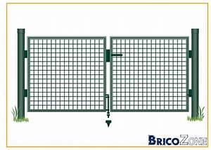 Poteau Bois Rond 3m : semelle pour poteau de cloture fixer sur du beton et ~ Voncanada.com Idées de Décoration