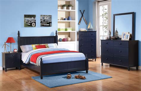 Zachary Youth Low Poster Bedroom Set From Coaster (400691t