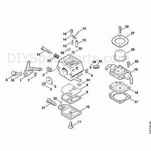 Stihl Fs 80 Brushcutter  Fs80 4137   Parts Diagram  E