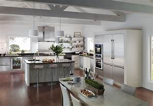 Kitchen Transitional Kitchen Design Trend 2017 3d Galley Kitchen Design In Modern Living