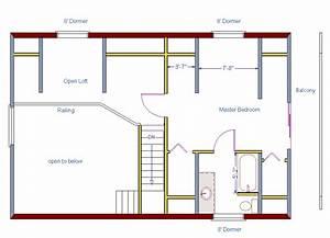 Log, Home, Floor, Plan, 24, U0026, 39, X36, U0026, 39, 864, Square, Feet, Plus, Loft