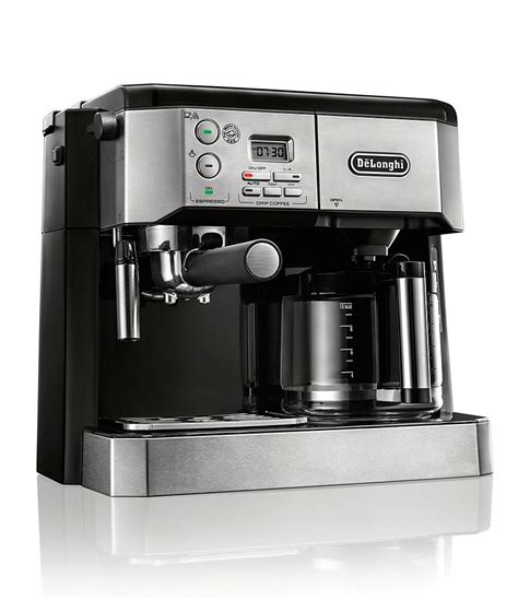 After having the grinds ready, let's see how you can go about using some cheap coffee makers. DeLonghi Combination Coffee & Espresso Machine | Dillards