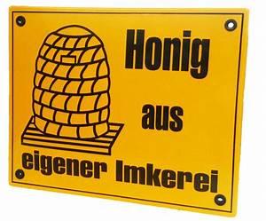 Honig Aus Eigener Imkerei : honig aus eigener imkerei exklusives emailleschild imkereibedarf seip alles f r den imker ~ Whattoseeinmadrid.com Haus und Dekorationen