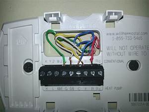 Wiring Diagram Honeywell Thermostat Th3210d1004