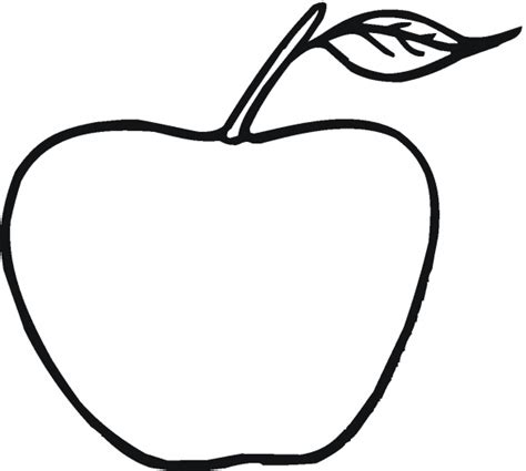 apple coloring pages for preschoolers 360coloringpages 867 | Apple Coloring Pages for Preschoolers